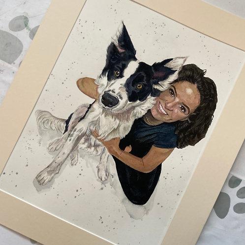 Pet & Person Family Portraits