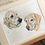 Thumbnail: Two Pets Head Only 12x16 Pet Portrait with 16x20 Mount
