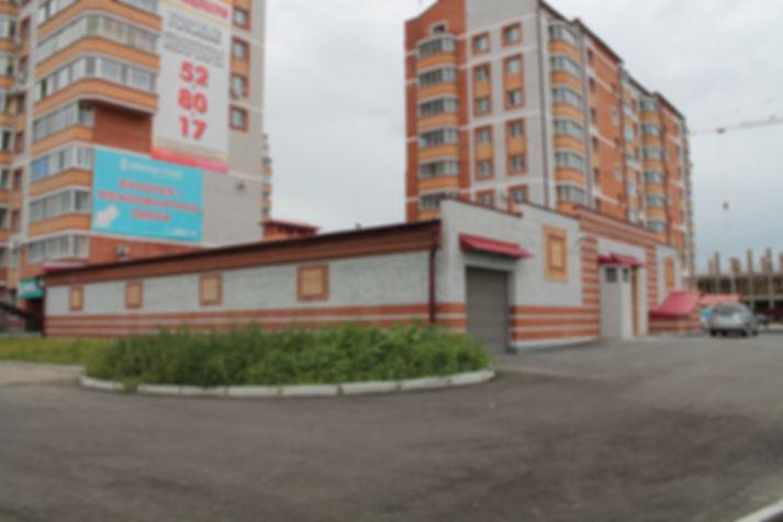 Фасад стоянки