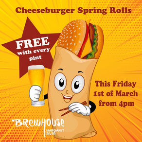 Cheeseburger Spring Roll