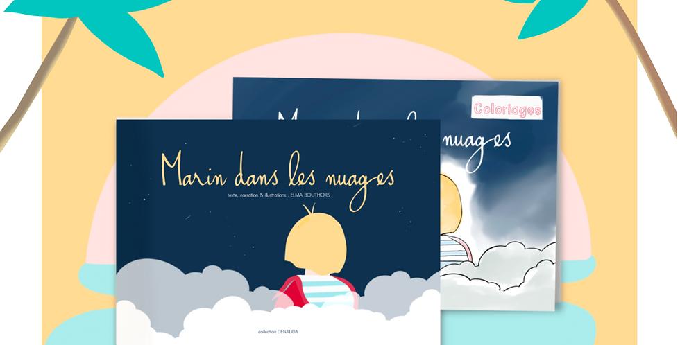 Duo . Marin dans les nuages
