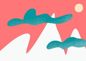 Denadda- au sommet illustration Audio livre et ebook. Conte initiatique pour les énarques et leurs parents