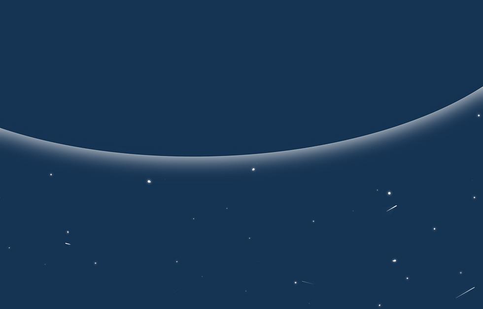 la planete bleu et ses étoiles