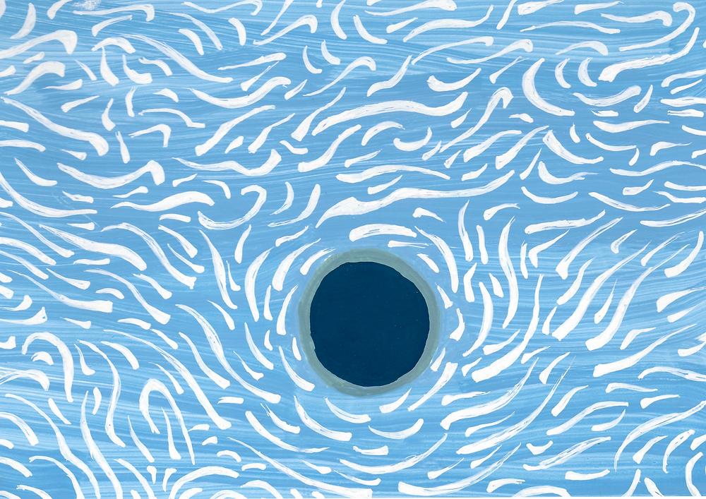 fond bleu mer avec vagues, carapace bleu nuit et bordure verte, tortue de mer Eya, Denadda, contes initiatiques pour les enfnts et leurs parents, ebooks, livres, dessin animé, francis huster, micha lescot