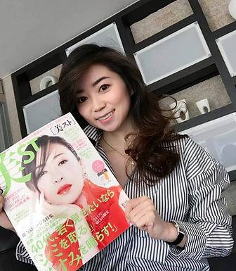 雑誌『美ST』にてオススメの香りを紹介しました♡