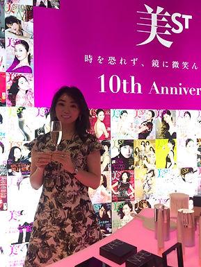 美ST創刊10周年イベント「Spark Beauty Fes」アフターパーティー🎉ご招待頂きました🥰✨