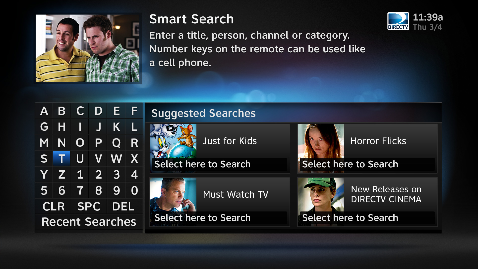 DIRECTV Smart Search HD