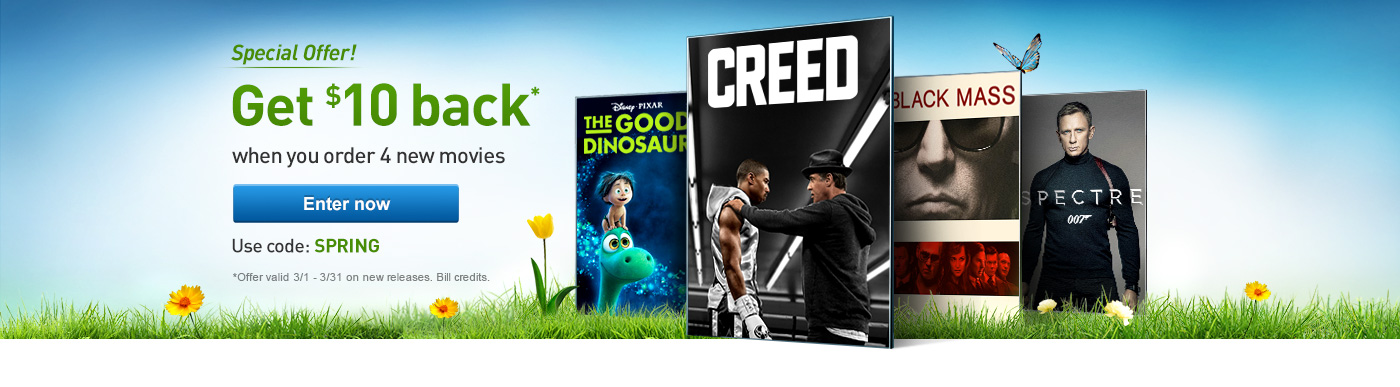 DIRECTV Customer Homepage Header