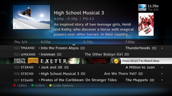 DIRECTV HD Guidebanner