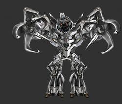 Megatron Arm Out Pose