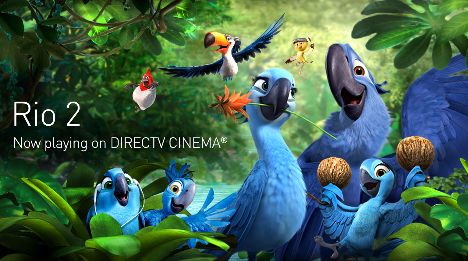 DIRECTV CINEMA Tablet Header