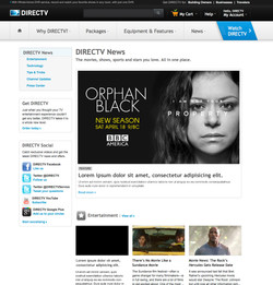 DIRECTV Tap A News Blog