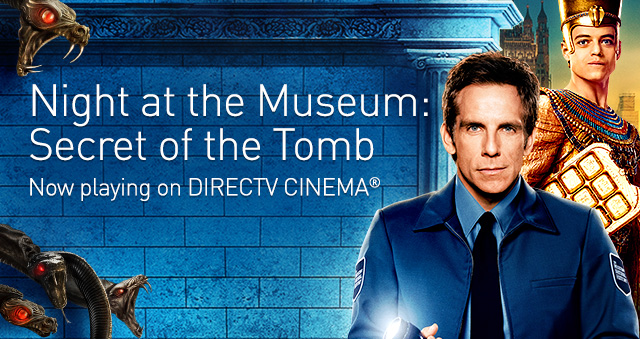 DIRECTV CINEMA Mobile Header