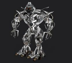 Megatron 3/4 pose