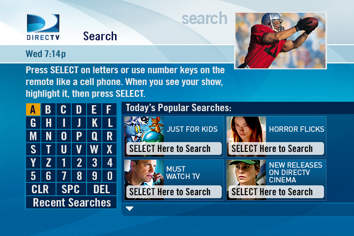DIRECTV Smart Search SD