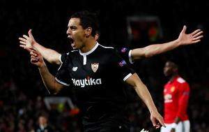 Doblete del francés Ben Yedder para Sevilla que sigue