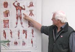 Undervisning i kroppens psykologi.