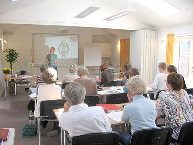Kurser og uddannelse i kropsterapi.