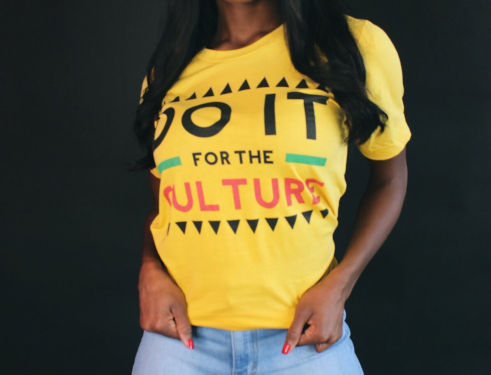 Do It For The Culture (Yellow)