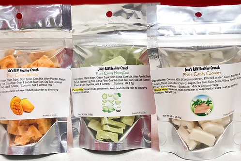 NON-VEGAN Freeze-Dried Fruit Candy