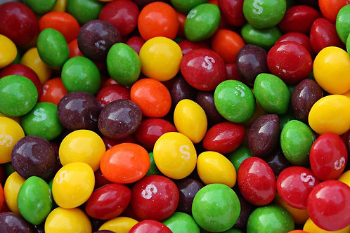 Original Skittles Bulk Vending Candy - Choose Weight  4 - 40 LBs