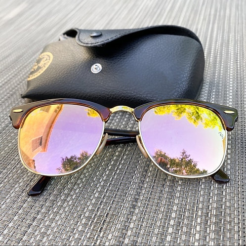 Ray-Ban Clubmasters Rose Gold