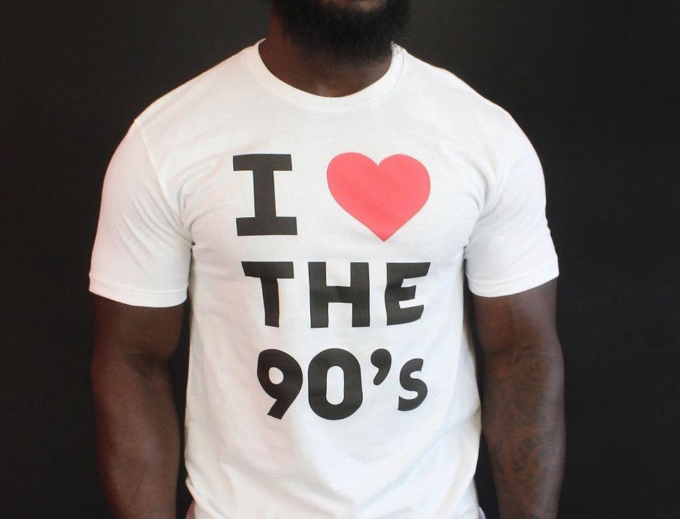 I Love the 90s Classic (White)