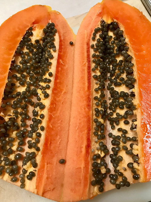 Freeze-Dried Papaya