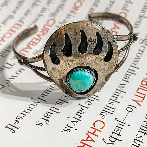 Authentic Navajo Stamped Bracelet