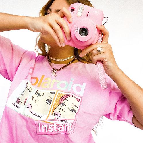 Pink Polaroid T shirt