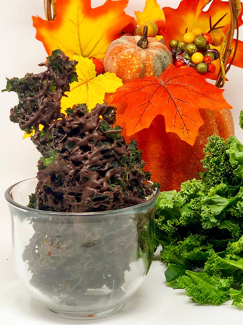 Dark Chocolate Pumpkin Pie Kale