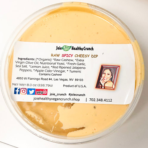 Cashew Dip RAW 8.0 oz