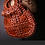 Thumbnail: Patricia Nash Pisticci red leather chainlink bag