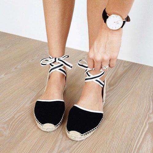 Soludos Classic Wrap Sandals