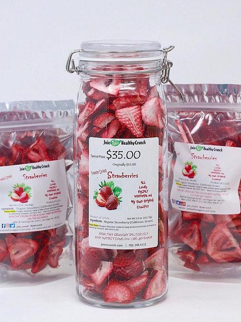 Strawberries Freeze-Dried