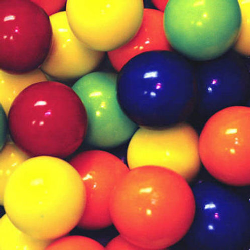 "Kaboom Colors  1"" Jawbreakers Hard Bulk Candy centers   4 - 30 LBs"