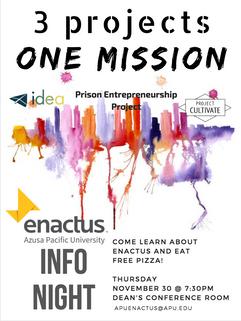 ENACTUS poster
