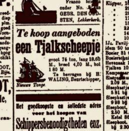 2.courier advertentie 1915