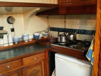 keuken van de courier