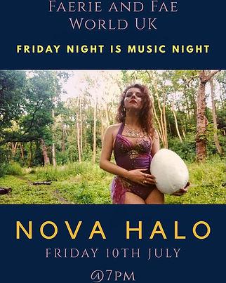 NOVA HALO LIVE FAERIE AND FAE WORLD UK