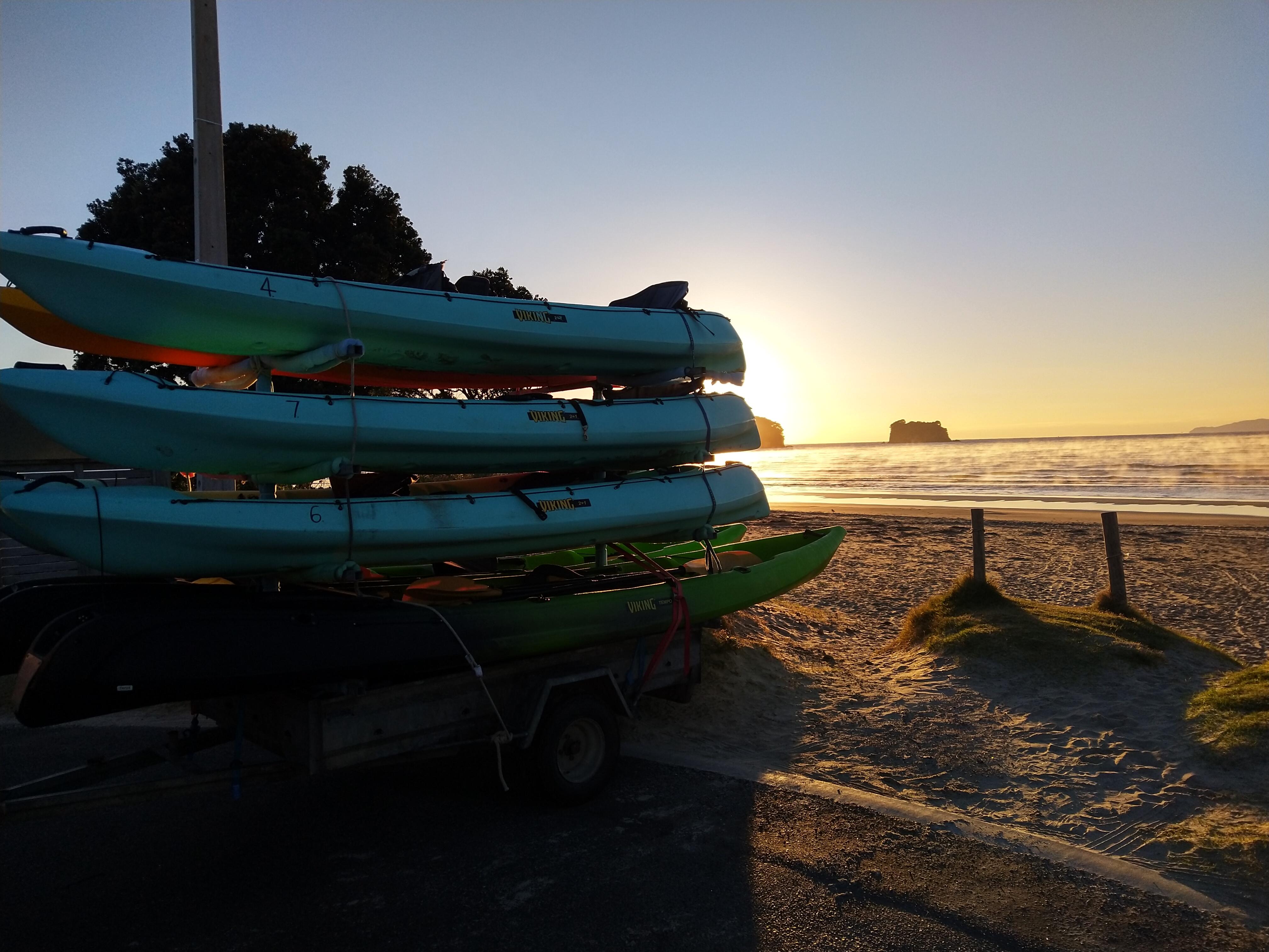 Kayak Hire Whangamata