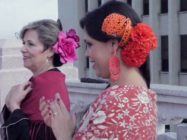 Making Off Kalendar Flamenco