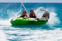 Bouée tractée Guadeloupe activités nautiques
