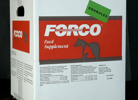 Forco 25 lb Granular or Pellets (Box With Plastic Liner) FREE Shipping!