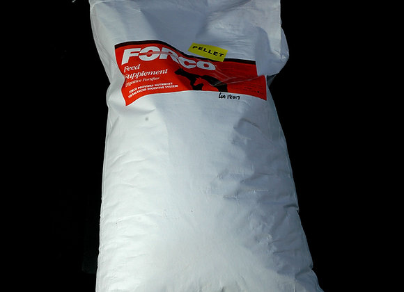 Forco 50 lb Granular or Pellets (Bag) – FREE USA Shipping!