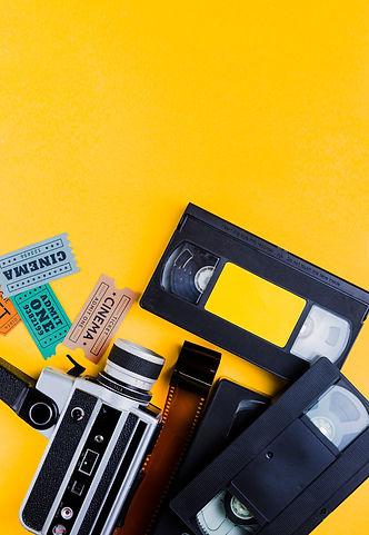 videotape-with-vintage-videocamera-cinem