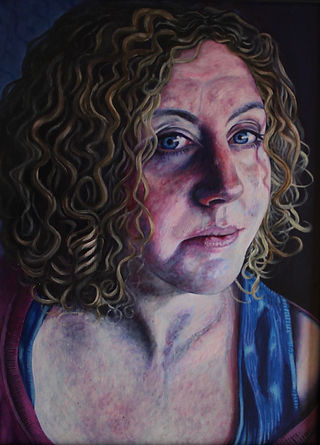 Katy McKidd Stevenson Self-Portrait