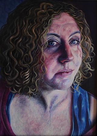 Katy McKidd Stevenson Self-Portrait