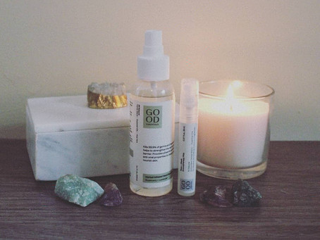 Good Essentials Rosemary and Lavender Hand Sanitizer Spray and Face + Mask Aromatherapy Mist Review