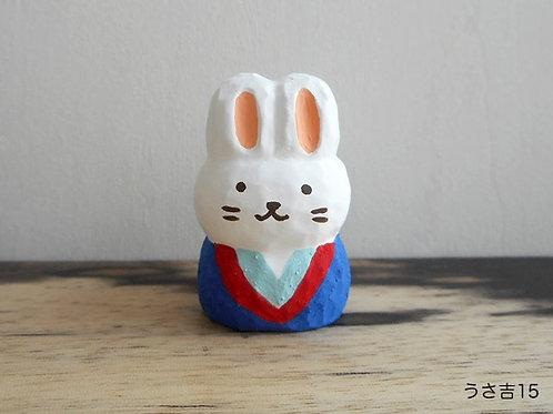 Wood carving : Rabbit named Usa-kichi
